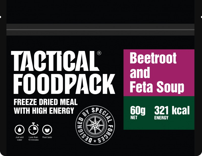 Tactical Foodpack® Rote-Bete-Suppe mit Feta